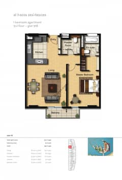 1-Bedroom-Apartment-Plot-308-Type-1B