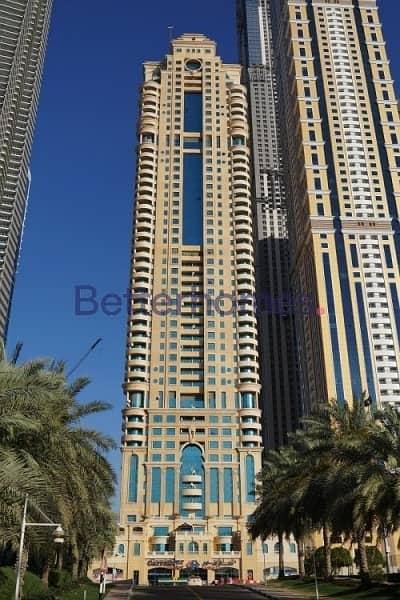 شقة 1 غرفة نوم للايجار في دبي مارينا، دبي - 1 Bed Marina Crown