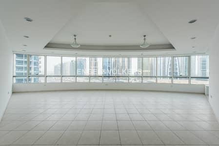 شقة 4 غرفة نوم للايجار في دبي مارينا، دبي - Spacious|Close to Metro|With Maid's Room