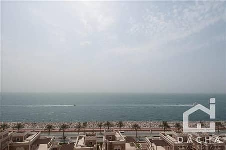 3 Bedroom Apartment for Sale in Palm Jumeirah, Dubai - Full Sea View / Large 3 Bed with terrace