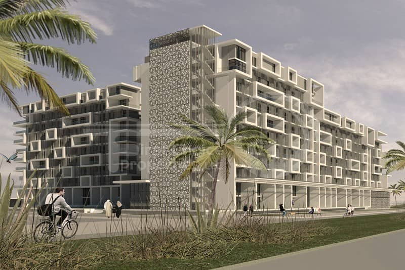 Skyhomes in Masdar City.Great Investment!!