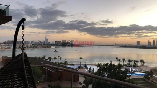 شقة 1 غرفة نوم للايجار في نخلة جميرا، دبي - Well Maintained and Fully Furnished 1 BR