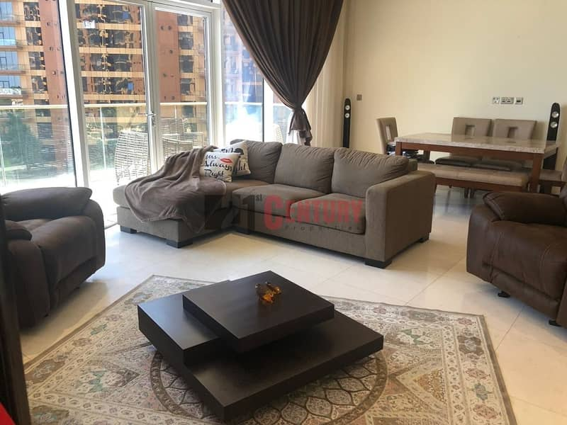 Well Maintained and Fully Furnished 1 BR