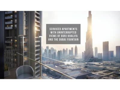 2 Bedroom Flat for Sale in Downtown Dubai, Dubai - Authentic Ad | Full Burj & Fountain View