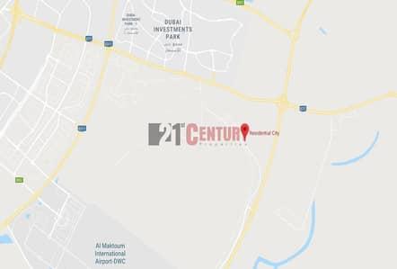 Industrial Land for Sale in Dubai South, Dubai - Freehold 5 Floors Residental Plot in District G