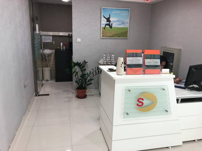 No Commission - Ready to move office for rent in Al Barsha