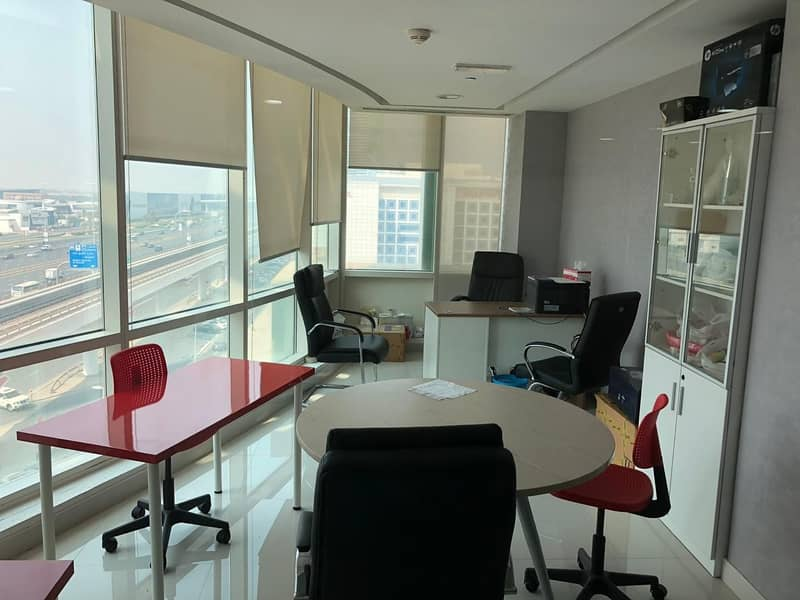 12 No Commission - Ready to move office for rent in Al Barsha