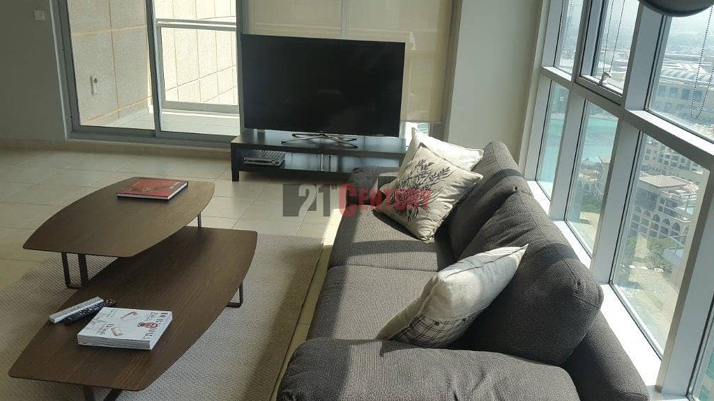 2 Fully Upgraded 2 Bed  with Fountain View