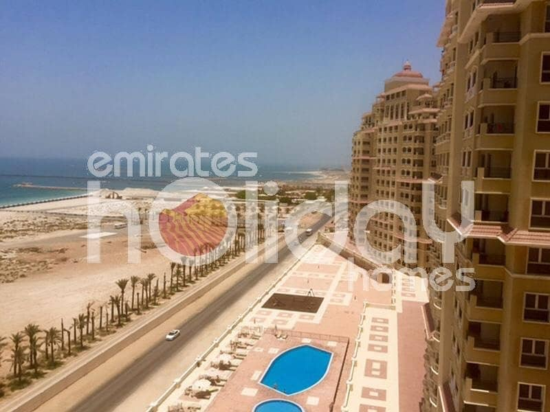 New listing For rent furnished 2 bed seaview flat