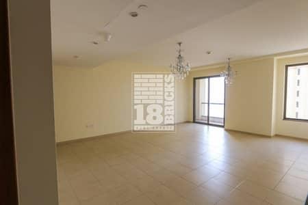 شقة 1 غرفة نوم للبيع في مساكن شاطئ جميرا (JBR)، دبي - Sea View | 2 Balconies | Vacant On Transfer