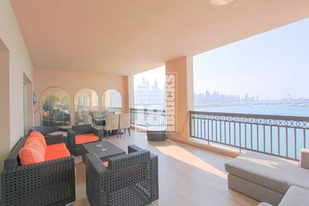 4 Bedroom Flat for Sale in Palm Jumeirah, Dubai - Sea View | Fully Upgraded | Maid's Room