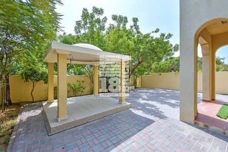 تاون هاوس 2 غرفة نوم للايجار في الينابيع، دبي - Type-4E I Single Row | Garden with Gazebo