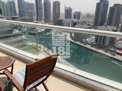 شقة 2 غرفة نوم للبيع في دبي مارينا، دبي - Full Marina View | Furnished | Chill Room