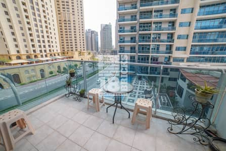 1 Bedroom Flat for Sale in Dubai Marina, Dubai - Fully Furnished Apartment  | 2 Balconies