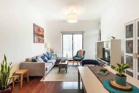شقة 1 غرفة نوم للبيع في أبراج بحيرات جميرا، دبي - Fantastic 1 BR Marina and Sea View Negotiable