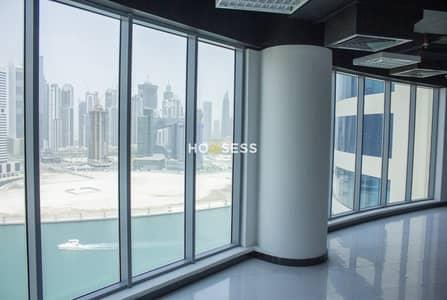 مکتب  للايجار في الخليج التجاري، دبي - Fully Fitted |Canal View | Multiple Cheques