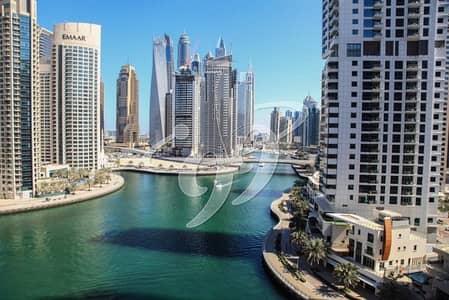 شقة 2 غرفة نوم للبيع في دبي مارينا، دبي - Marina View | 2BR | Unfurnished | 3 Balconies
