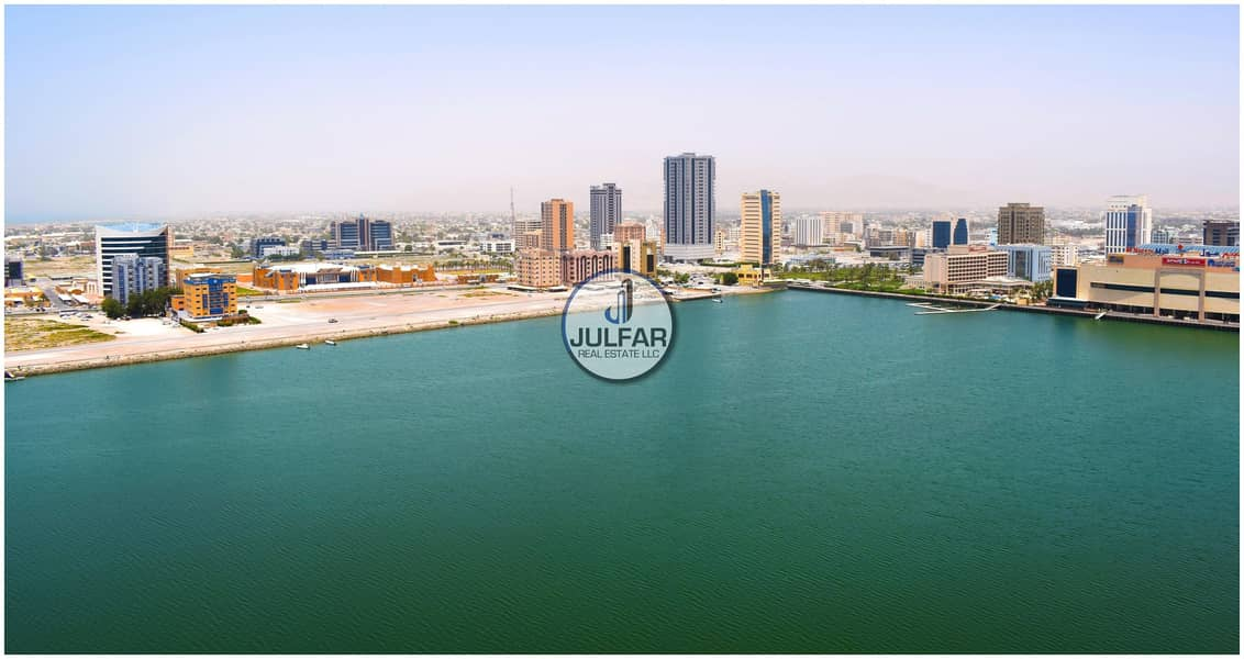 2 Partitioned Sea View Office For Rent In Julphar Tower