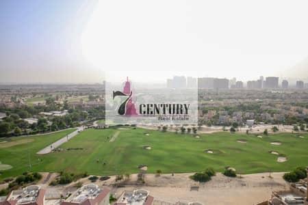 فلیٹ 1 غرفة نوم للبيع في مدينة دبي الرياضية، دبي - Low Price | Full Golf Course View | 1Br Apartment