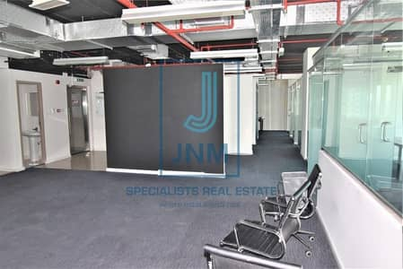 Office for Rent in Jumeirah Lake Towers (JLT), Dubai - Next To Metro office for rent at 1 Lake Plaza