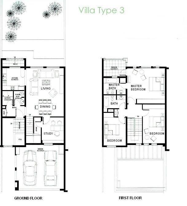 10 3 Bedroom Villa | Extended | Springs 15