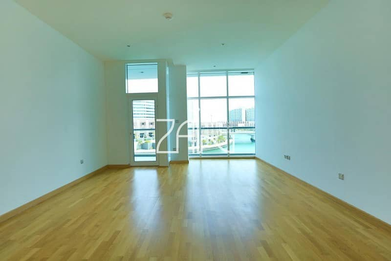 2 3 Payments! Sea View 2 BR Apt with Balcony