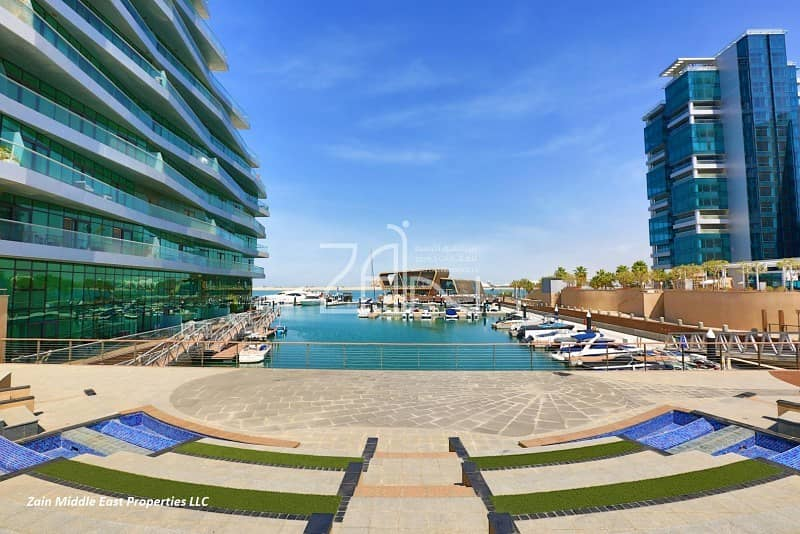 10 3 Payments! Sea View 2 BR Apt with Balcony