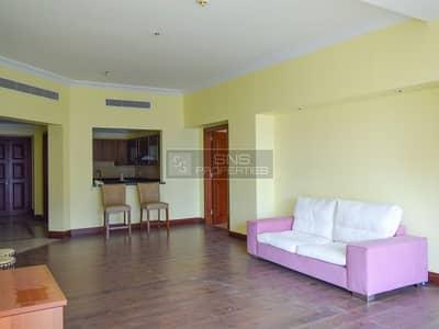 فلیٹ 2 غرفة نوم للبيع في نخلة جميرا، دبي - Upgraded 2 br+M I Vacant I Golden Mile 6