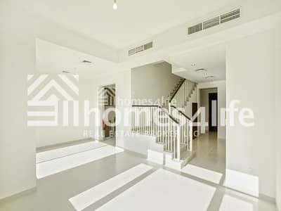 3 Bedroom Townhouse for Rent in Reem, Dubai - Corner Plot | Vacant |Townhouse with Study+Maid