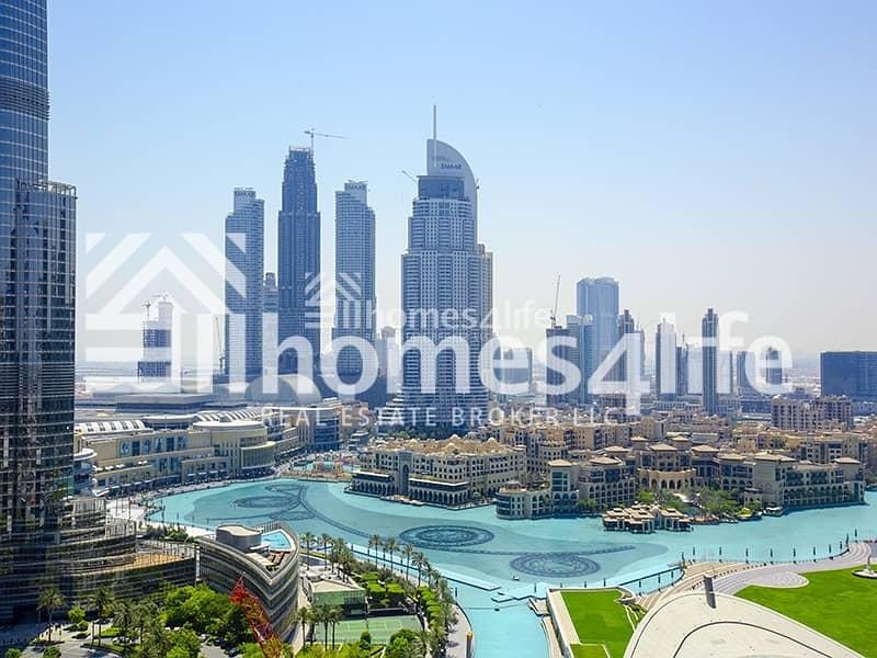 2 High Floor   Burj Khalifa and Fountain View