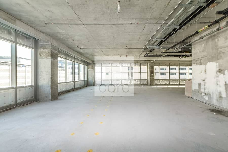 Full Floor | Shell and Core | One Central
