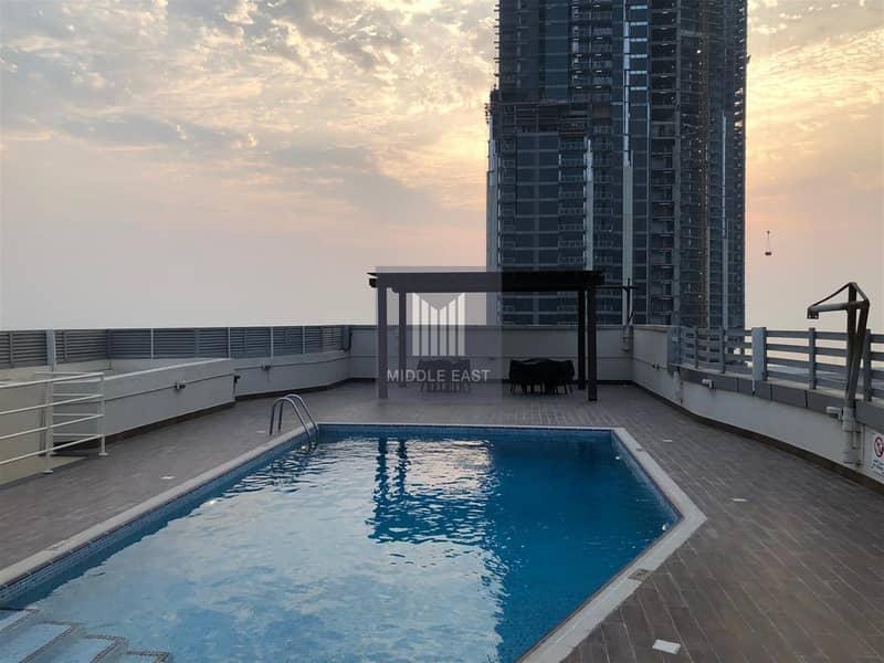 Large studio | Rent | Partial Sea View | Dubai Marina