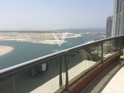 2 Bedroom Flat for Sale in Al Khan, Sharjah - 2 Bed + Maid Panoramic Lake and Sea View