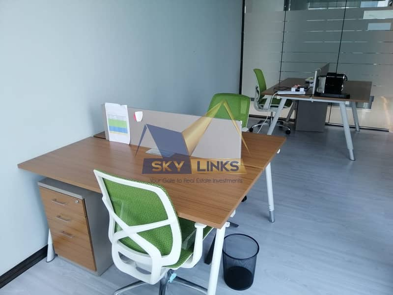 11 Fully Furnished Sharing Office For Rent In Business Bay