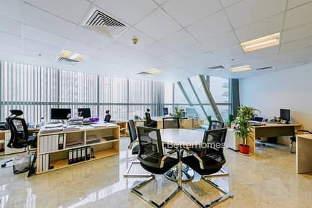 Office for Sale in Barsha Heights (Tecom), Dubai - High Floor Fitted Office Near Metro Stn