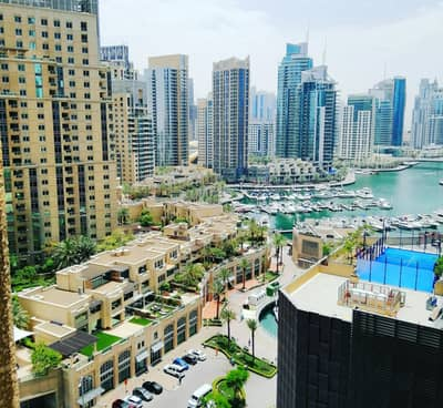 2 Bedroom Flat for Sale in Dubai Marina, Dubai - Fully upgrade modern furnished 2 bedroom marina view most desirable locatiom