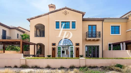 4 Bedroom Villa for Sale in Jumeirah Golf Estate, Dubai - Upgraded 4 Bed Golf Course View Vacant On Transfer