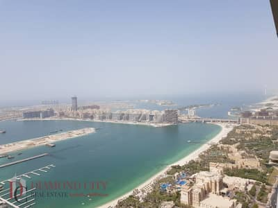 2 Bedroom Apartment for Rent in Dubai Marina, Dubai - 2BR Full Sea View | Spacious layout| Equipped Kitchen