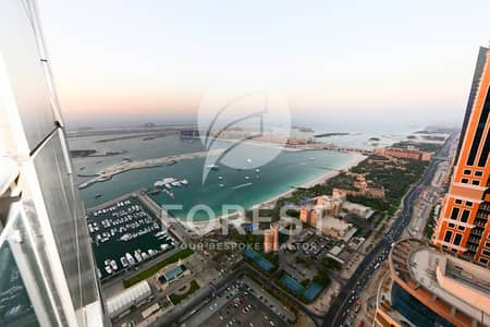 شقة 1 غرفة نوم للبيع في دبي مارينا، دبي - Best Layout 1 BR on High Floor With Partial Sea View