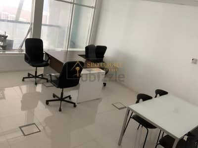 Office for Rent in Business Bay, Dubai - Fully Furnished Office in Business Bay - Clover Bay