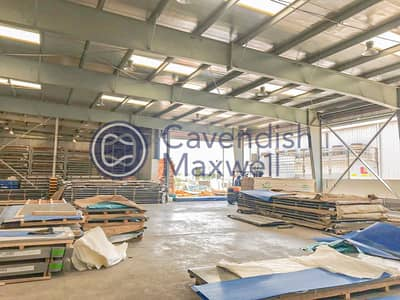 Warehouse for Sale in Jebel Ali, Dubai - Open Sided Shed I Corporate Office I 7.3M Height
