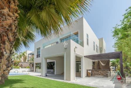 فیلا 6 غرفة نوم للايجار في تلال الإمارات، دبي - Fully Furnished Villa with Lake Views