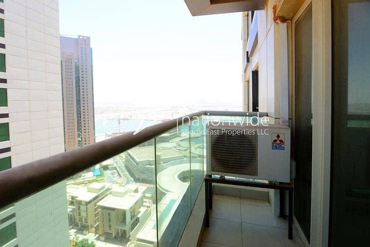 10 Hot Deal! Towering 1BR Apartment + Full Facilities