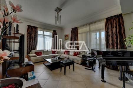 شقة 3 غرفة نوم للايجار في نخلة جميرا، دبي - Fully Furnished  3 Br+ Maids with Beach Access