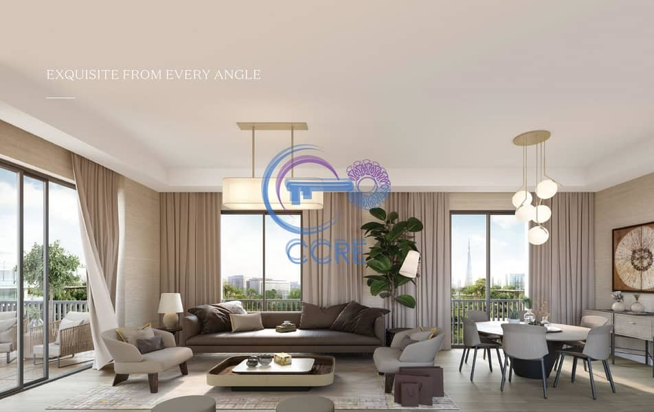 2 Green view | Furnished | 50/50 Payment plan