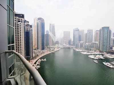 شقة 3 غرفة نوم للايجار في دبي مارينا، دبي - THE POINT TOWER 3 BED (FULL MARINA VIEW)