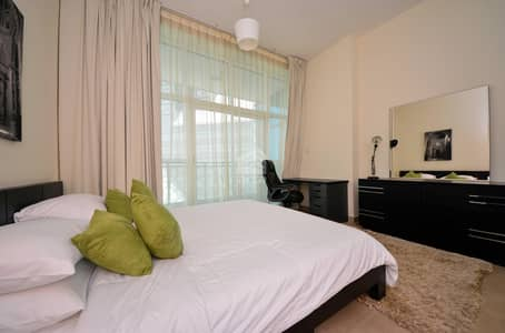 1 Bedroom Apartment for Rent in Business Bay, Dubai - Fully Furnished | Lake View | Built in Wardrobe