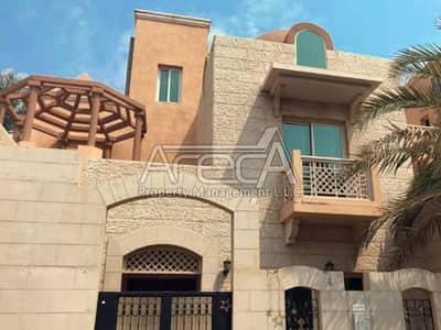 فیلا 4 غرفة نوم للايجار في المشرف، أبوظبي - Stylish Living In The Heart Of City! 4 Bed Room Family Villa in Al Mushrif Gardens.