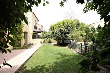 3 Bedroom Villa for Rent in Green Community, Dubai - Well Maintained   End Unit   Vacant