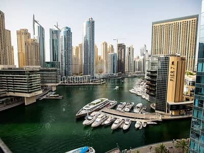 1 Bedroom Flat for Rent in Dubai Marina, Dubai - 1 bed apt for rent I massive view I key in hands